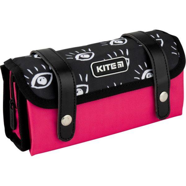 Пенал Kite City 21x9x5см, 1 отделение, 2 внутр.кармана K20-634-3