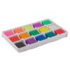 Пластилин восковый, 15 цветов, (10+5 с глиттером) 225 г. Shimmer&Shine SH19-087 36019