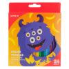 Карандаши цветные шестигранные Jolliers 24 цвета, K19-055-5