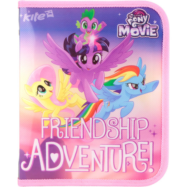 Папка для тетрадей пластиковая My Little Pony В5, на молнии, LP17-203-02