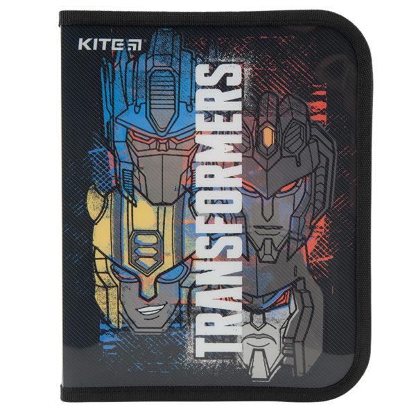 Папка для тетрадей пластиковая Transformers В5, на молнии, TF20-203