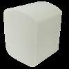 Туалетная бумага в листах целлюлоза, 2-х слойная, 150 листов, белая