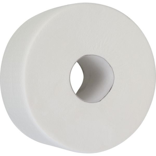 """Туалетная бумага целлюлозная """"ДЖАМБО"""" 100м, на гильзе, белая"""