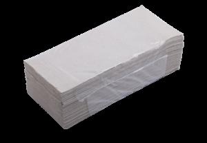 Полотенца макулатурные V-образные, 160 шт, серые