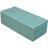Полотенца макулатурные V-сложение, 250х225мм, 160 шт, зеленые
