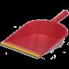 Совок для мусора с резиновой насадкой