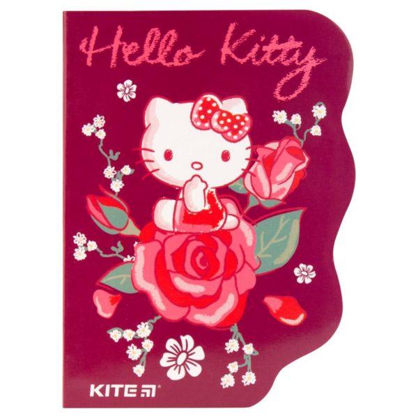 Блокнот с фигурной вырубкой А6 Kite Hello Kitty HK19-223, 60 листов, клетка