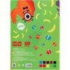 Бумага цветная, двусторонняя 10листов, 10 цветов, 80г/м, А5 Kite Jolliers K20-293 37662