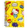 Блокнот на пружине с резиночкой Kite Hello Kitty А6, 80 листов, клетка HK19-229 38719