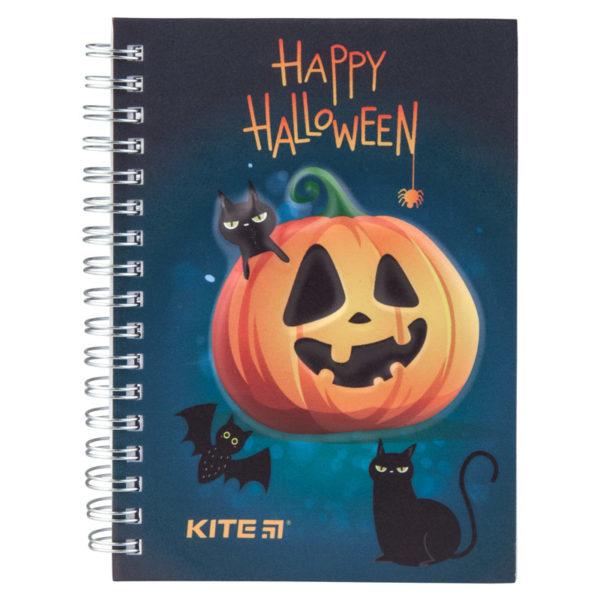 Блокнот на пружине Kite Halloween А5-, 80 листов, точка K19-350-1