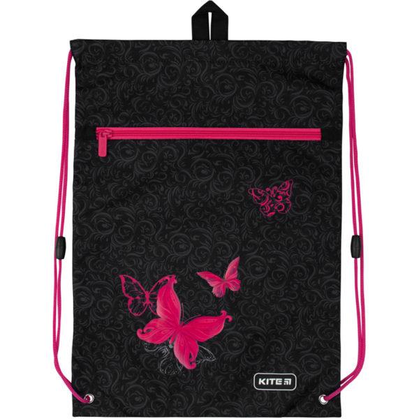 Сумка для обуви с карманом Kite Butterfly tale K20-601M-13
