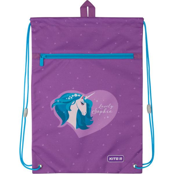 Сумка для обуви с карманом Kite Lovely Sophie K20-601M-27