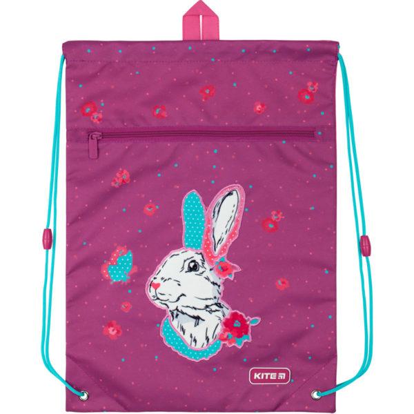 Сумка для обуви с карманом Kite Bunny K20-601M-7