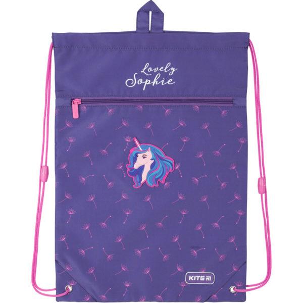 Сумка для обуви с карманом Kite Lovely Sophie K20-601M-9
