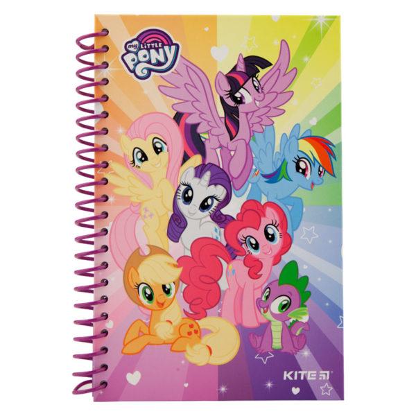 Блокнот на пружине Kite My Little Pony А5, 80 листов, нелинованный LP19-221