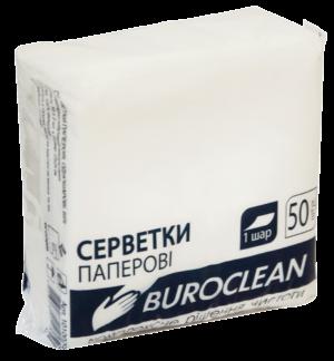 Салфетки бумажные, 240х240 мм, 50 шт, белые