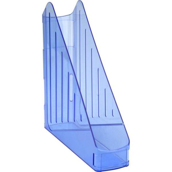 Лоток вертикальный KOH-I-NOOR пластик, прозрачный синий 754121