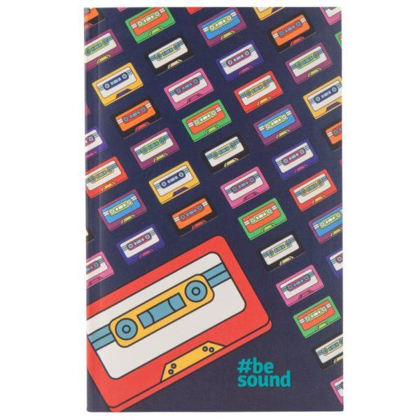 Записная книжка детская Kite BeSound-2 K19-260-3, В6, 80 листов, гибкая обложка, в клетку