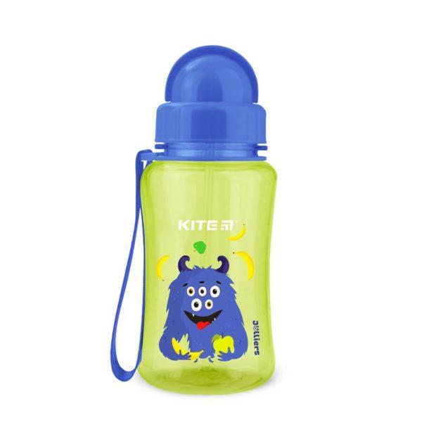 Бутылочка для воды Kite Jolliers, с трубочкой, 350 мл. K20-399-2