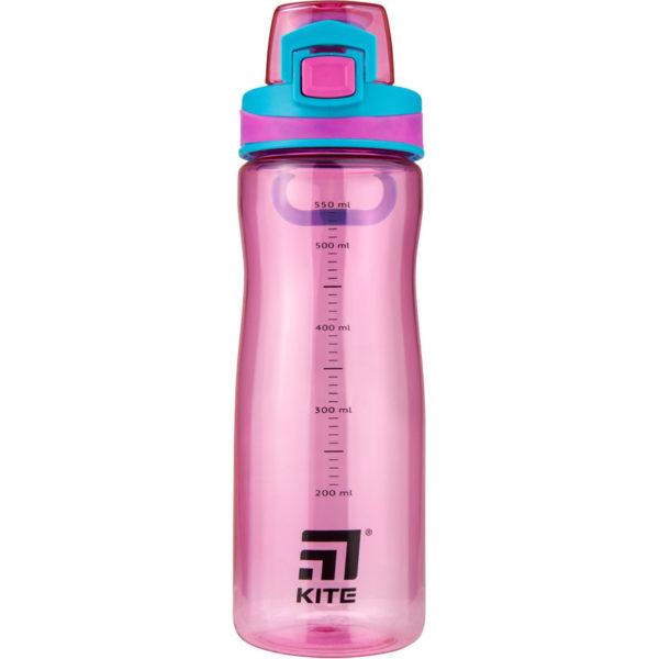 Бутылочка для воды Kite K20-395-01, 600 мл, розовая