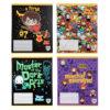 Тетрадь школьная Kite Harry Potter, 12 листов, клетка HP20-232
