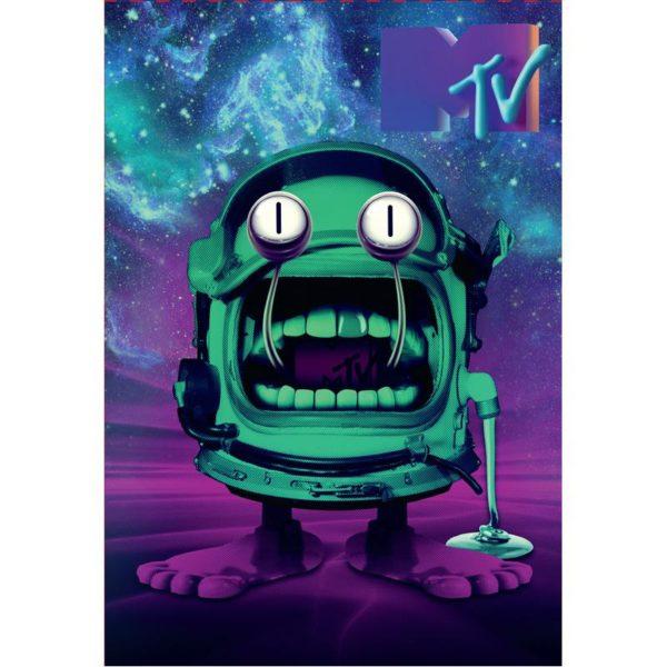 Блокнот-планшет Kite MTV-1, А5, 50 листов, клетка MTV20-194-1