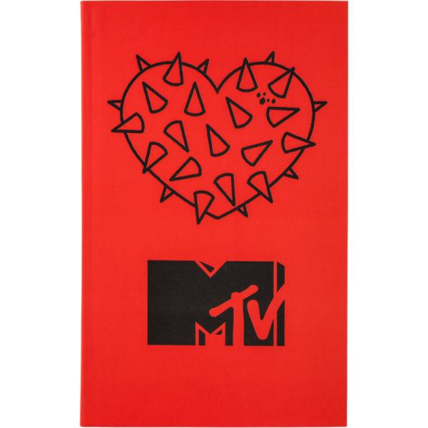 Записная книжка детская Kite MTV, В6, 80 листов, гибкая обложка, в клетку MTV20-260-2