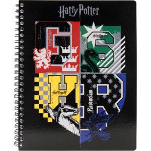 Колледж-блок А5, Kite Harry Potter HP20-248-1 80 листов, микроперф, 4 отв. клетка