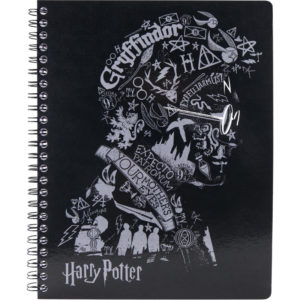 Колледж-блок А5, Kite Harry Potter HP20-248-2 80 листов, микроперф, 4 отв. клетка