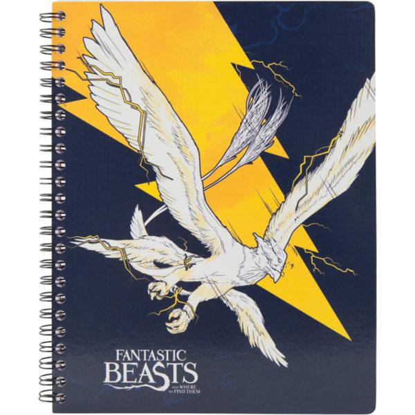 Колледж-блок А5, Kite Harry Potter HP20-248-4 80 листов, микроперф, 4 отв. клетка