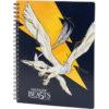 Колледж-блок А5, Kite Harry Potter HP20-248-4 80 листов, микроперф, 4 отв. клетка 40150