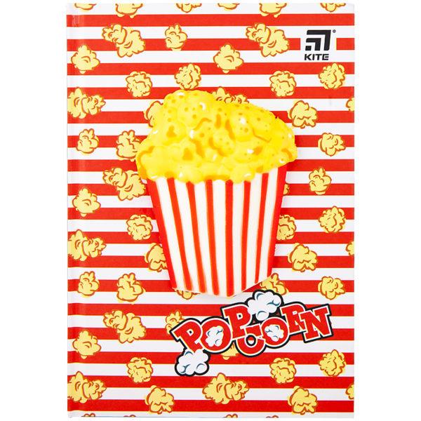 Блокнот Kite Popcorn, сквиш, А5, 80 листов, клетка K20-284-4