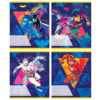 Тетрадь школьная Kite DC, 18 листов, линия DC20-237