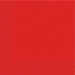 Салфетки 33х33см Маrgo красные 20шт