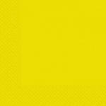 Салфетки 33х33см Маrgo желтые 20шт
