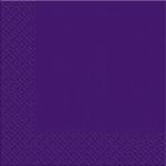 Салфетки 33х33см Мargo темно-фиолетовый 20шт