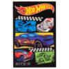 Блокнот А7(маленький!!!) Kite Hot Wheels HW19-224, 48 листов, клетка