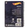 Блокнот на пружине с резиночкой Kite Hot Wheels А6, 80 листов, клетка HW19-229 39450