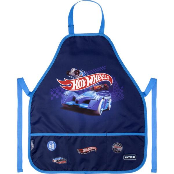 Фартук детский Kite Hot Wheels HW20-161-1 + нарукавники