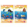 Картон цветной, односторонний Kite А4, 10 листов, 10 цветов, K19-255