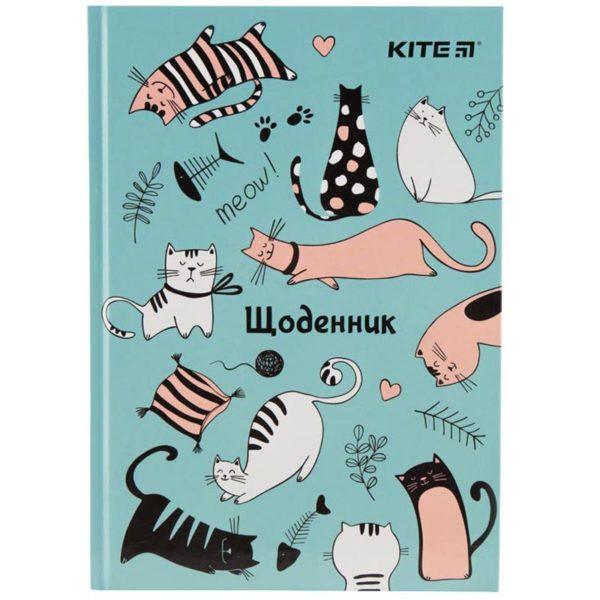 Дневник школьный Funny Cats 165х230мм, твердая обложка K19-262-4