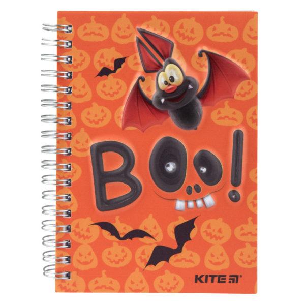 Блокнот на пружине Kite Halloween А5-, 80 листов, точка K19-350-2
