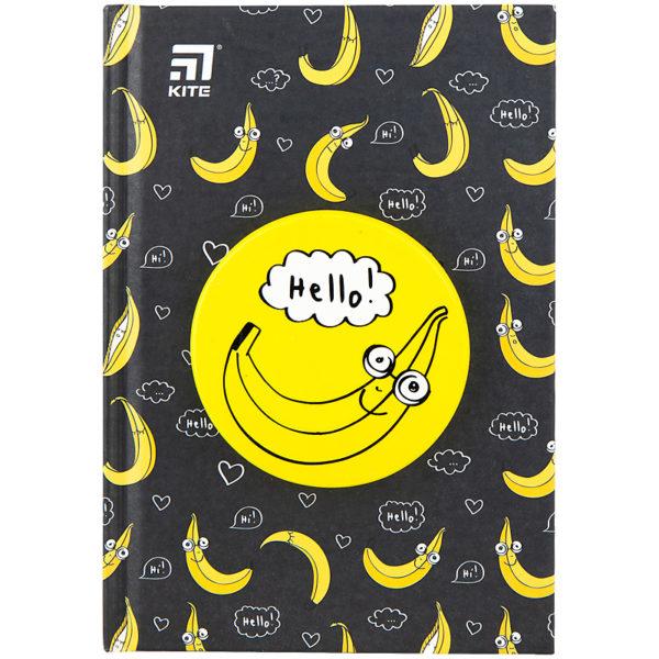 Блокнот Kite Banana, сквиш, А6, 80 листов, точка K20-285-2