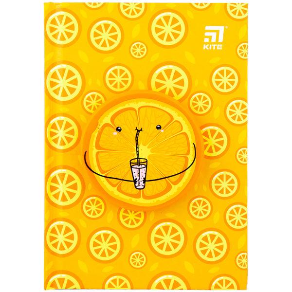 Блокнот Kite Orange, сквиш, А6, 80 листов, точка K20-285-3