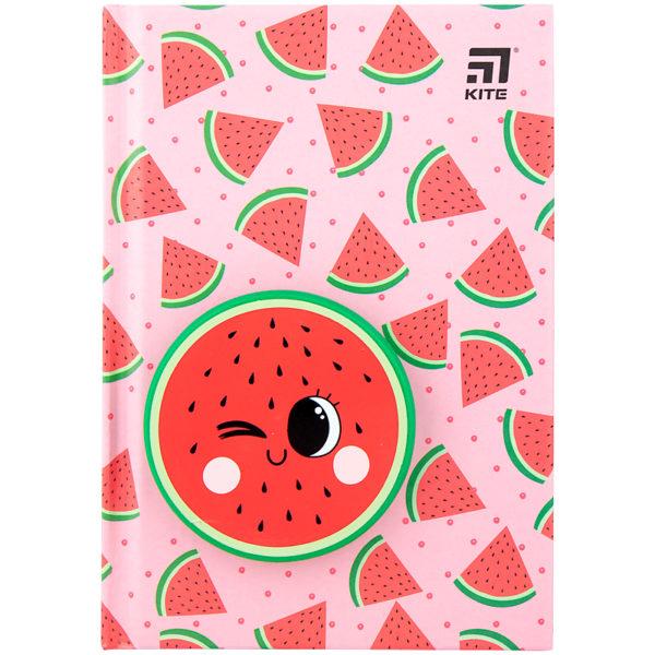 Блокнот Kite Watermelon, сквиш, А6, 80 листов, точка K20-285-4
