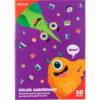 Картон цветной, двусторонний 10 листов, 10 цветов, А5 Kite Jolliers K20-289