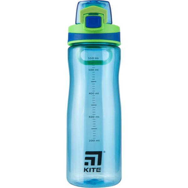 Бутылочка для воды Kite K20-395-02, 600 мл, голубая