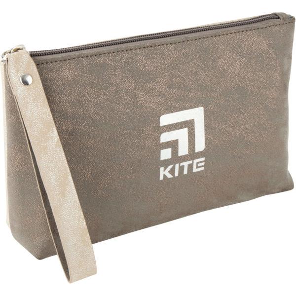 Косметичка двухцветная с ручкой Kite 26x13x6,5 см, 1 отделение, K20-609-3