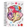 Блокнот на пружине с резиночкой Kite My Little Pony А6, 80 листов, клетка LP19-229 39462