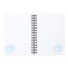 Блокнот на пружине с резиночкой Kite My Little Pony А6, 80 листов, клетка LP19-229 39464